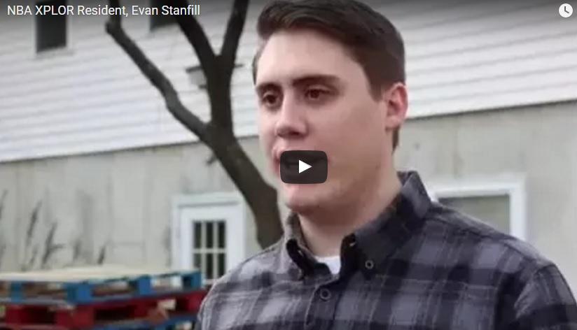 NBA XPLOR Resident, Evan Stanfill